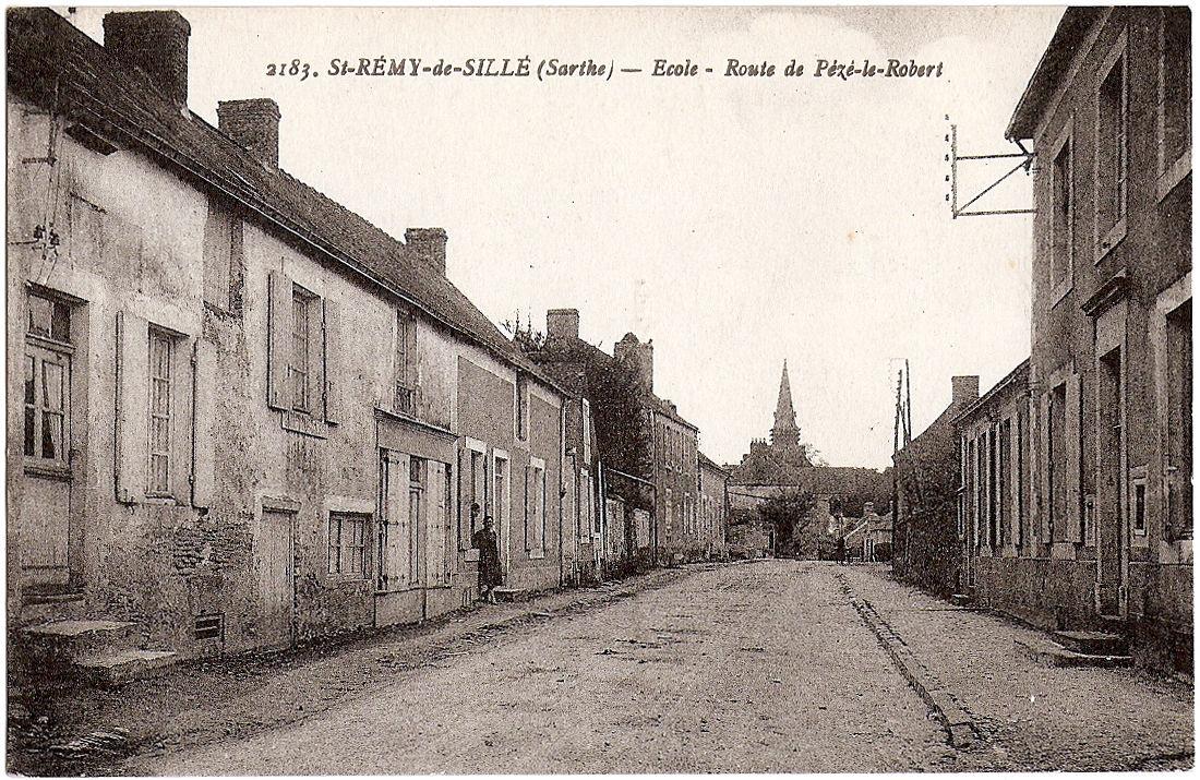 St-REMY-de-SILLÉ-72-Ecole